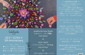 Lotus Studio  5th Anniversary!!